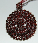Garnet Brooch/necklace Convertable