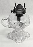 Clear Glass Bullseye Safety Handle Kerosene Lamp