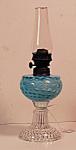 Blue Opalescent Coinspot Miniature Lamp