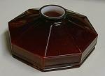 Rare Red Cased Paneled Shade Emeralite?