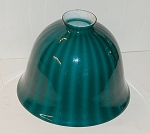 Emeralite Large Striped Bell Shade No Mounts