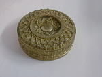 Gilt Bronze Snuff Box Early 19th Cent