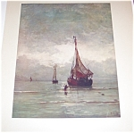 Antique & Vintage Print Seascapes Ships Nautical