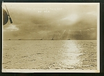 2 Photos Of Wwii Ships Signed N Moser, Ny