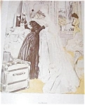 Vintage Print Victorian Bride Wedding Bridasl Room Henry Hutt