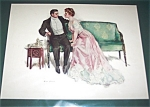 Will Grefe Vintage Print Leap Year Question Romance