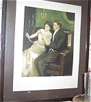 Clarence Underwood Print Their First Wedding Gift : Romance