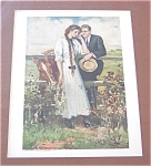 Clarence Underwood Print: Country Romance, Horse
