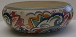Carter Stabler & Adams Poole England Deco Bowl