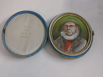 Porcelain Placque Painted With Old Sailor Kpm?
