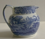 Copeland Spode Italian Pattern Pitcher Blue/white