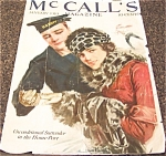 Wwi Print:howard Chandler Christy Navy Romance Mccalls Magazine