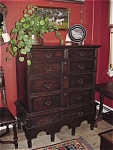 Oak Jacobean Chest Of Drawers