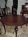 George Iii Mahogany Gateleg Table 18th Century