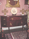 Federal Inlaid Mahogany Bowfront Sideboard