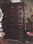 George Iii Mahogany Chest On Chest