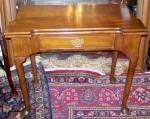 A George Ii Mahogany Games Table