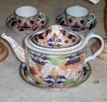Worcester Porcelain Imari Pattern Tea Service
