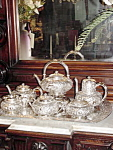 19th Century Gorham Silverplate Tea & Coffee Service