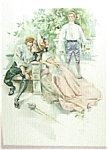 Harrison Fisher Print > Private Theatricals 1907 Romance