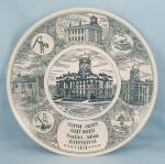 Clinton County Court Houses - Indiana - Collector Plate