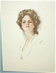Harrison Fisher Print: Beautiful Lady