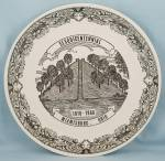 Miamisburg, Ohio Sesquicentennial, 1968 - Collector Plate