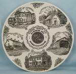 Wilmington, Ohio/ Clinton County, Sesquicentennial, 1960 - Collector Plate