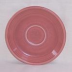 Vintage Fiesta Rose Saucer