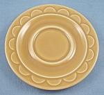 Granada Harvest Gold - Homer Laughlin - Sheffield - Saucer