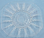 Columbia - Crystal Saucer - Federal Glass Co. - 1938-1942