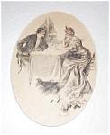 Harrison Fisher Print- Victorian Romance