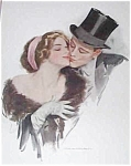 Harrison Fisher Print Happy Moments Romance