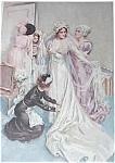 Vintage Harrison Fisher Mother Of Bride Bridal Room Print