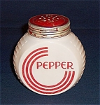 Hocking - Vitrock Red Circles- Pepper