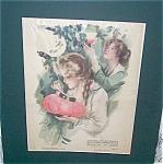 Vintage Original Harrison Fisher Prints: Fair And Warmer