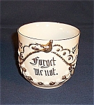 "German ""forget Me Not"" Ornate Cup"
