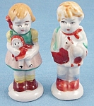 Occupied Japan - Girl / Dolly - Boy / Pet