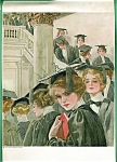Harrison Fisher Antique Art Prints: Graduates: Graduation Girls
