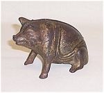 Cast Iron Bank - Pig