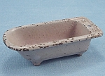 Kilgore - Cast Iron - Dollhouse Furniture - Mauve / Lavender Tub