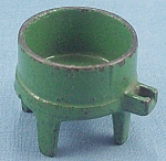 Kilgore - Cast Iron - Dollhouse Furniture - No. T.-24 - Toy Washing Machine Tub - Green