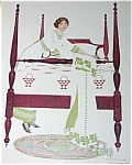 Vintage Vanity Bedroom Print Quilt Coles Phillips Fade Away
