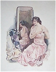 Vintage Bedroon Vanity Print Susan Lenox Howard Chandler Christy