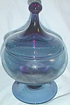 Simply Stunning Cobalt Covered Candy Tall Ball Top Fini