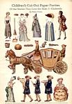 Vintage Uncut Paper Dolls: Cinderella, Helen Pettes