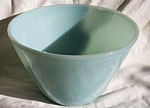 Fire King Turquoise Blue Splash Proof Mixing Bowl