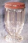 Large Antique Sugar Shaker Prism Pattern