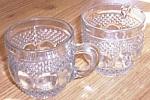 Kokomo Glass Dew And Raindrop Punch Cups