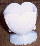 Boyd Pink Opalescent Toothpick Heart
